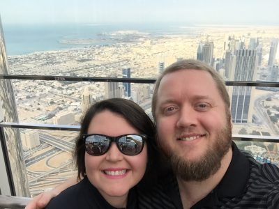 Observation Deck of the Burj Khalifa - Dubai - 2015