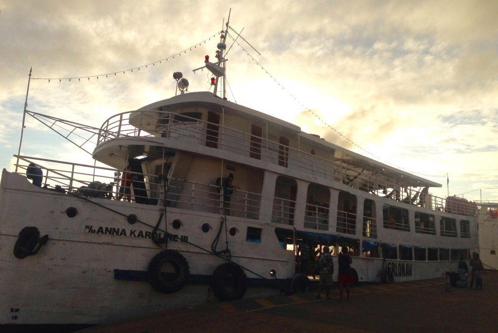 Our Riverboat, the Anna Karolina III