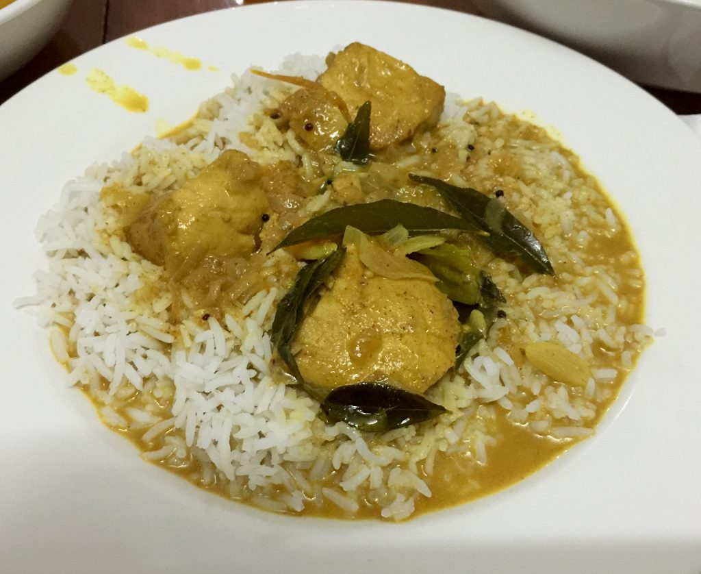 This fish curry in Malé was awesome!