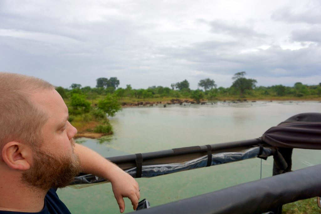 Heading out on safari in Udawalawe National Park.
