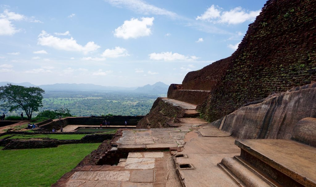 View from the King's Throne, top of Sigiriya.