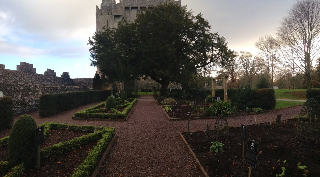 The Poison Garden at the Blarney Castle