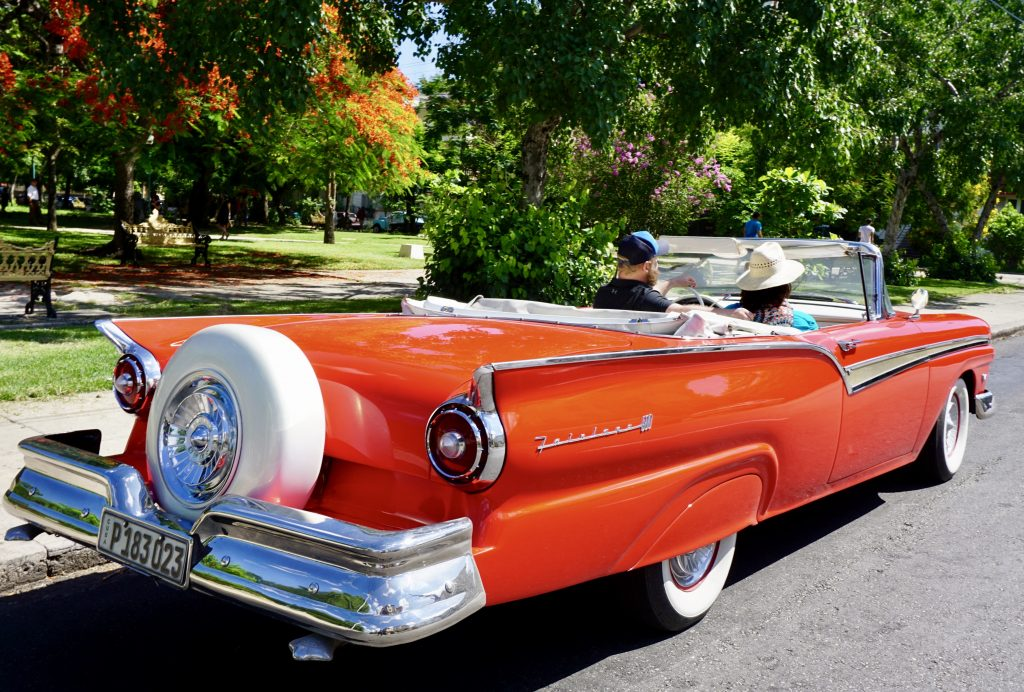 Take a ride in a 1957 Ford Fairlane 500